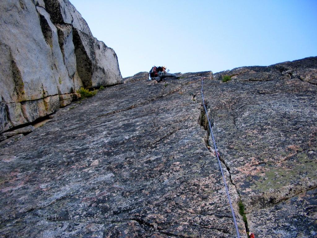 Serpentine Ridge (Dragontail Peak)