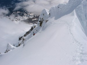 Wy'East, Steel Cliff Gullies (Mount Hood)